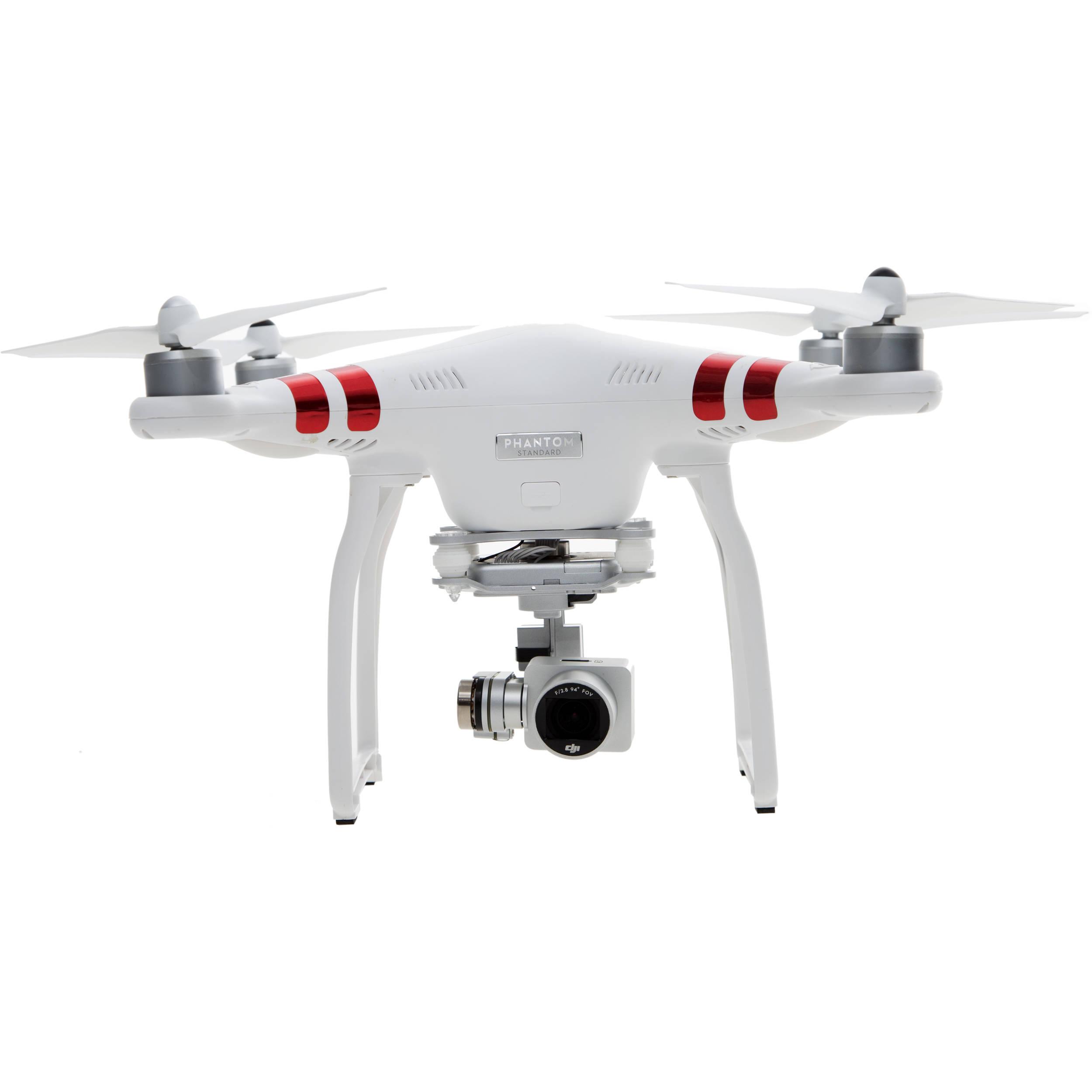 DJI Phantom 3 Quadcopter Aircraft w/ 3-Axis Gimbal & 2.7k Camera $599 - $50 - $50 - $25