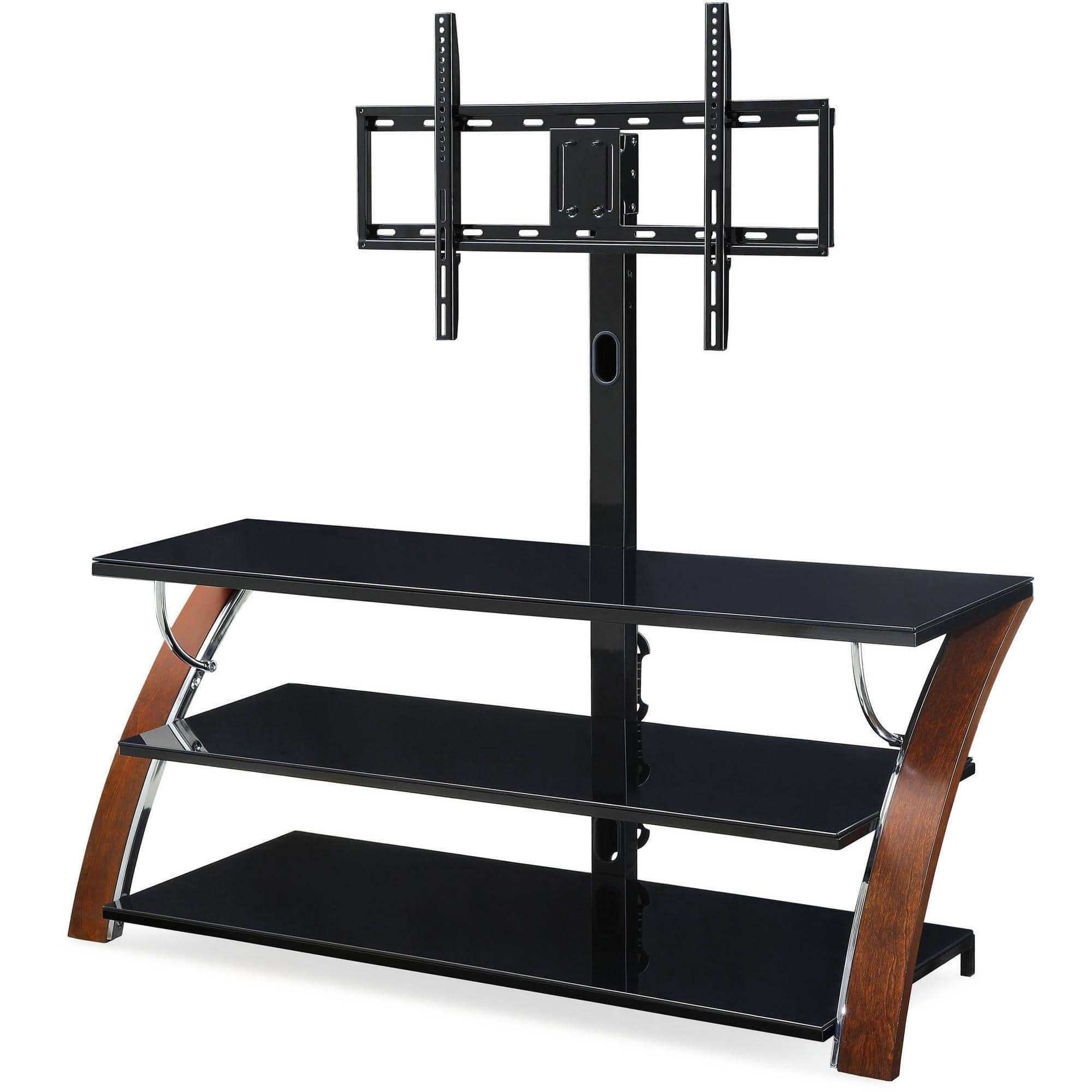 Whalen-3-In-1-Black-TV-Console-for-TVs-up-to-70 is $99.99