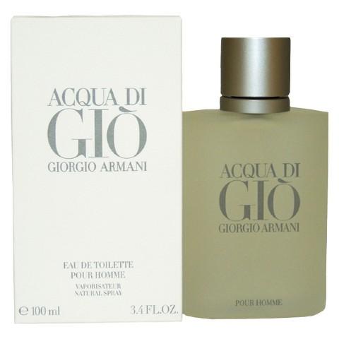 Acqua Di Gio by Giorgio Armani Eau de toilette 3.4 oz for $36.99 + FS @ Target