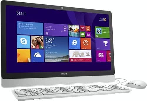 "Dell Inspiron 23.8"" AIO Touchscreen Desktop (Pre-Owned): AMD A8-7410, 8GB DDR3, 1TB HDD $250 + Free Shipping"