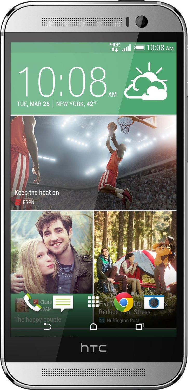"Smartphone Sale: 32GB HTC One M8 5"" No-Contract Verizon Smartphone  $250 + Free Shipping"