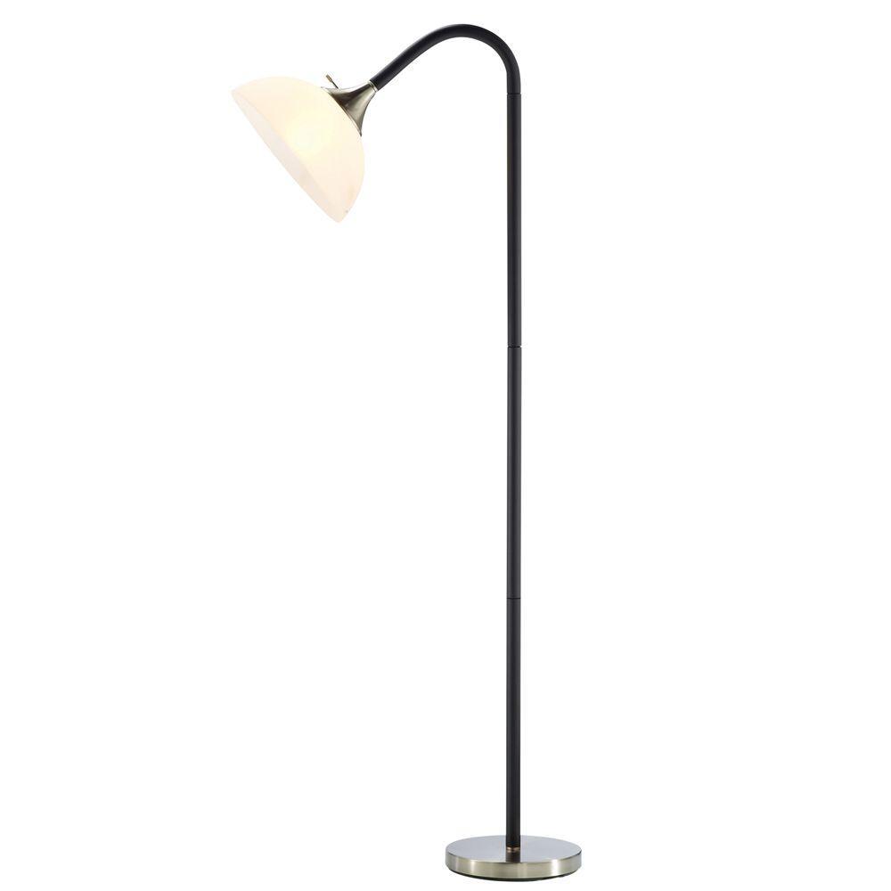 "Lamp Sale: Adesso Gander 71"" Black Floor Lamp  $17.50 & More + Free Store Pickup"