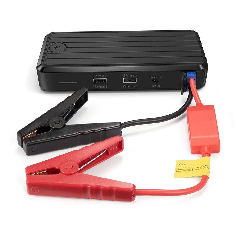 RAVPower USB Car Jump Starter / Power Bank (12000mAh/500A Peak)  $50 + Free Shipping