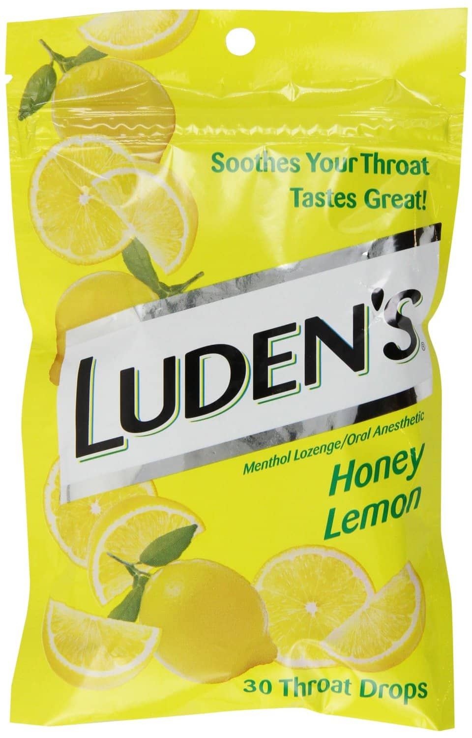 Luden's Great Tasting Throat Drops, Honey Lemon, 30-count 1.42 with Subscribe and Save