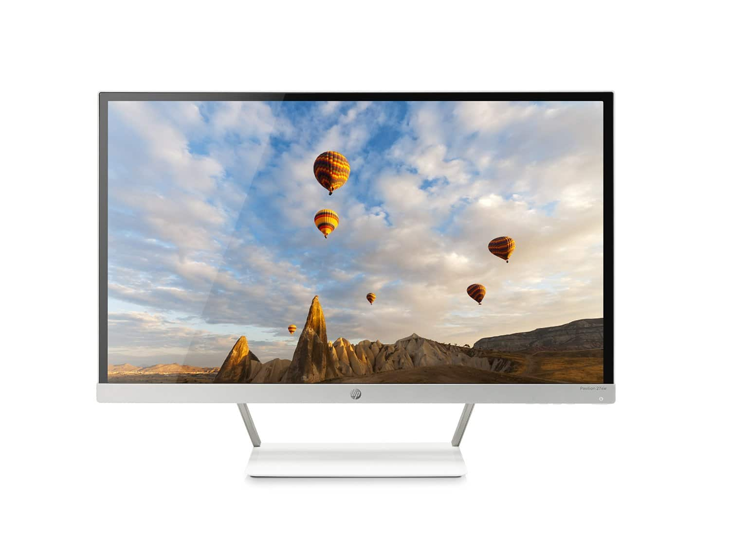HP Pavilion 27xw 27-in IPS LED Backlit Monitor by HP on Amazon for $119