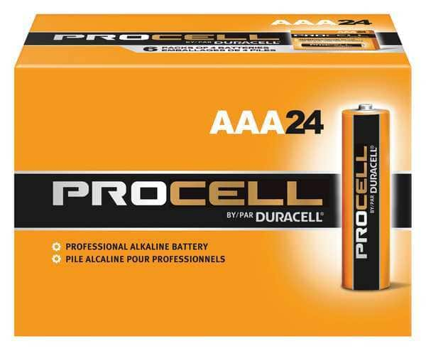 Duracell Procell Alkaline Batteries: 24-Pack AAA or AA  $6.20 & More + Free Shipping