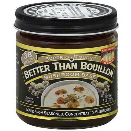 Better Than Bouillon: 6-Pack of 8oz Mushroom Base or Lobster Base & More $25.37 + free shipping