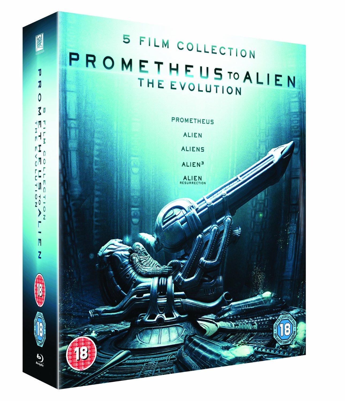 Prometheus to Alien: The Evolution 8-Disc Box Set (Region Free Blu-ray)  $15