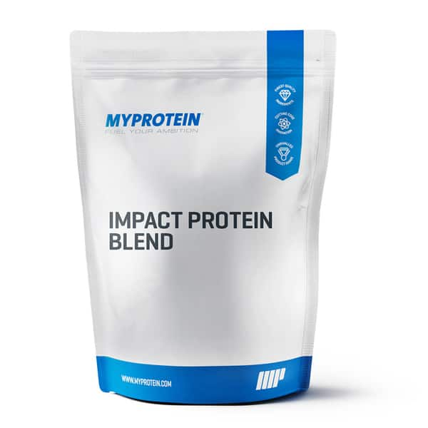 5.5-lb Impact Protein Blend (Chocolate or Vanilla) $19.98