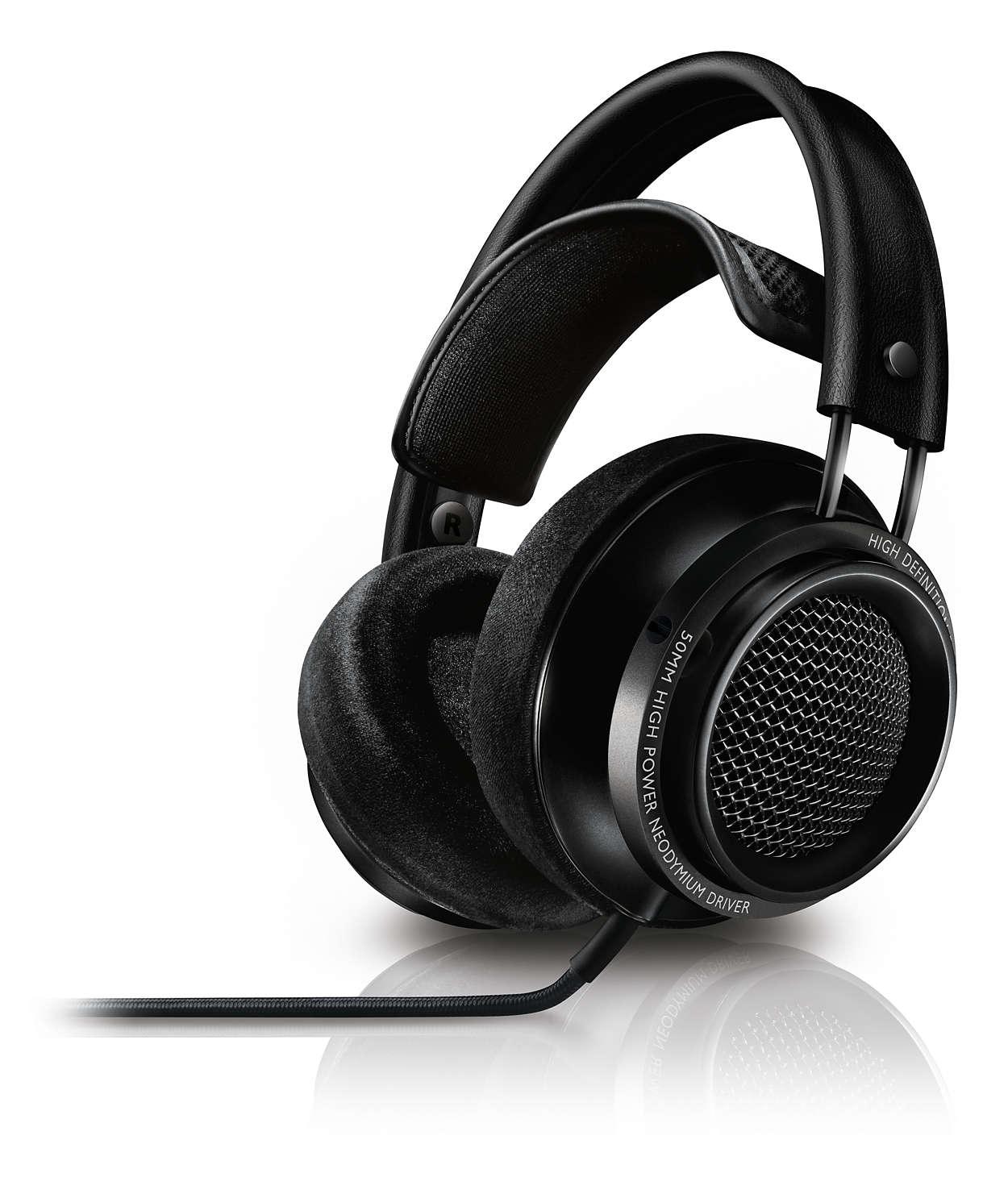 Philips X2/27 Fidelio Premium Headphones, Black for $199.99 + 5$ shipping at Massdrop