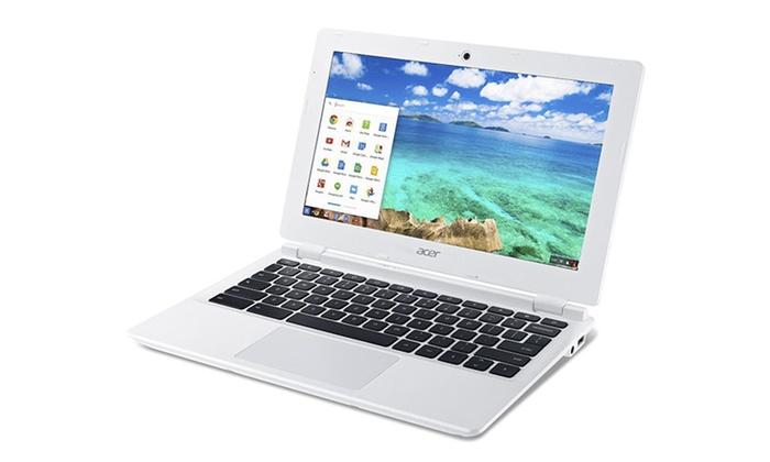 "Refurb Acer CB3-111-C8UB 11.6"" Chromebook 2.16GHz Intel N2830 Celeron CPU, 2GB RAM, 16GB SSD $99 FS @ Groupon"