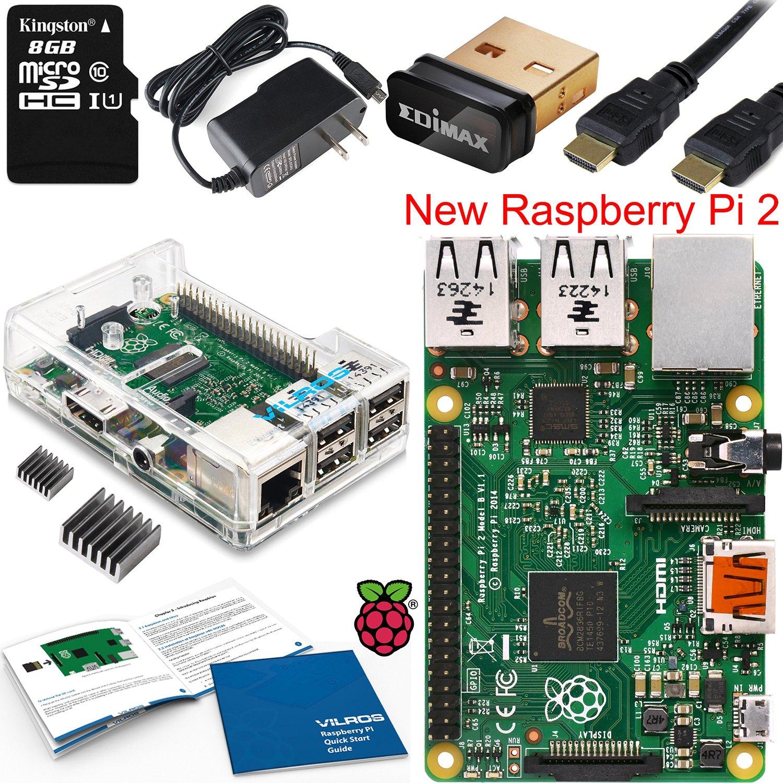 Raspberry Pi 2 Complete Starter Kit for$58.49 Free shipping