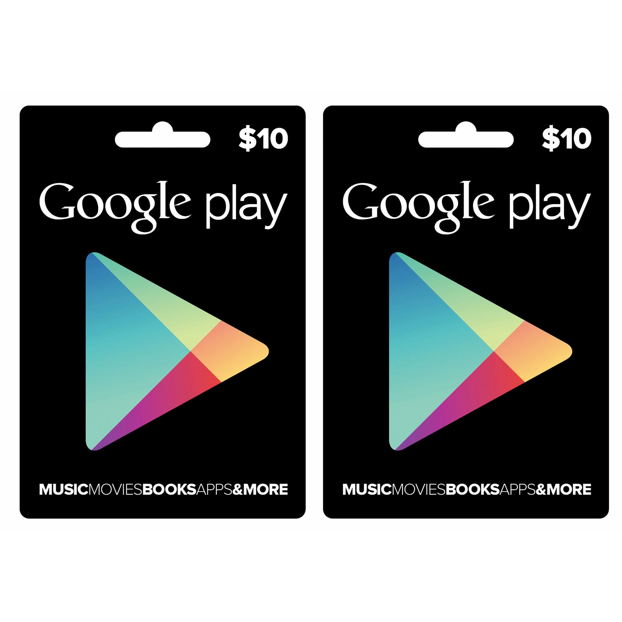 $20 (2-Pack of $10) Google Play Gift Card $14.49 + Free Shipping @ BJs Wholesale Club