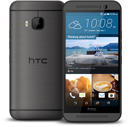 "32GB HTC One M9 5"" AT&T Smartphone (Gray or Silver)  $250 + Free Shipping"
