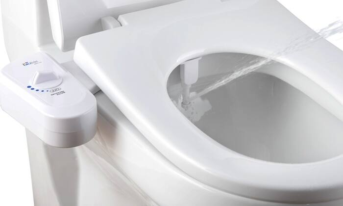 Bio Bidet Simplet Bidet Attachment - $19.99 + $2.99 S/H @ Groupon