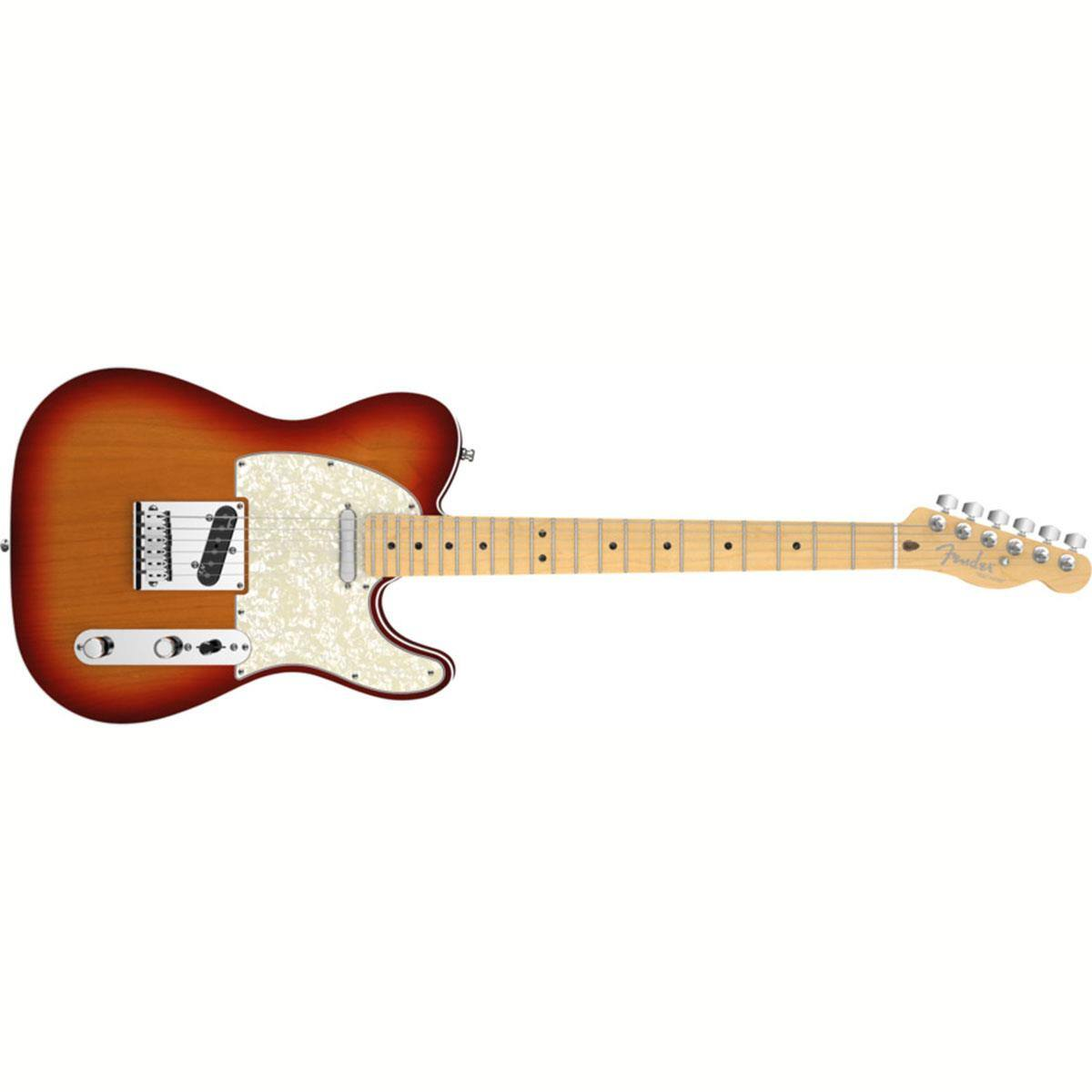 Fender American Deluxe Telecaster Electric Guitar (Aged Cherry Burst)  $1000 & More + Free S&H