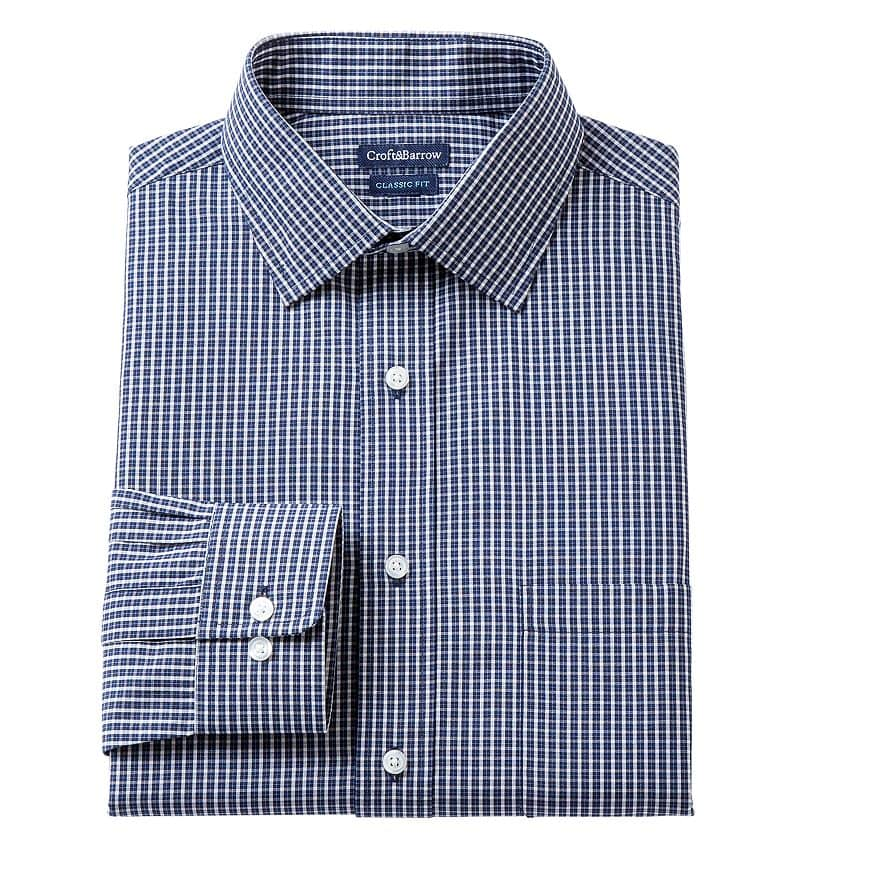 Kohls Card Holders: One Day Only March 5th - Men's Croft & Barrow Dress Shirts 2 for $10.50 or 6 for $24.50 + Free Shipping