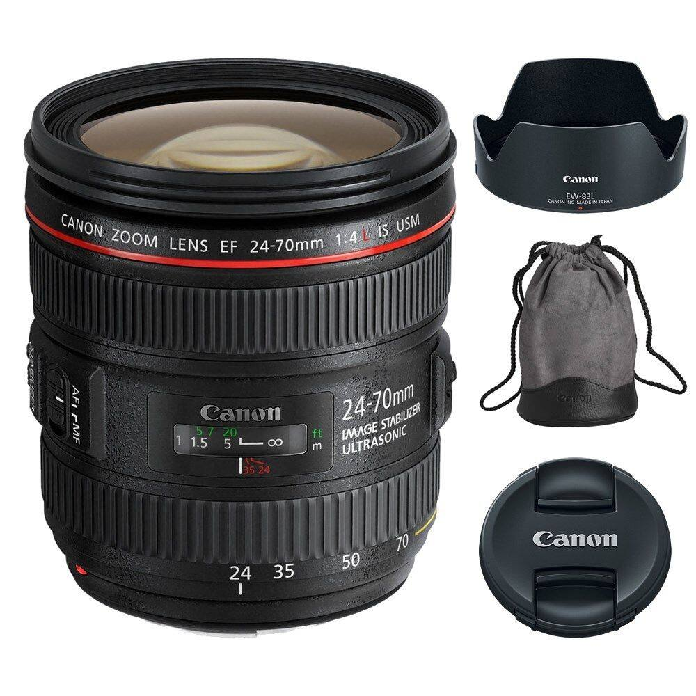 Canon 24-70mm f/4L IS USM Lens for Digital SLR DSLR Cameras Bodies $599 + Free Shipping (eBay Daily Deal)