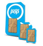 FreedomPop Global GSM 3-in-1 SIM Kit + 1GB Free Data Trial  $5 + Free Shipping