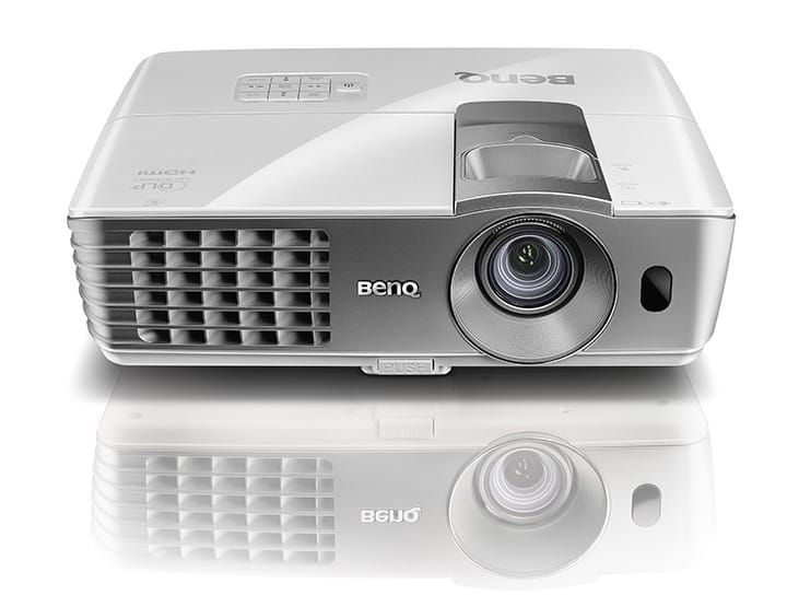 BenQ 1080p 3D Home Theater Projector (W1070, Refurbished)  $492 & More