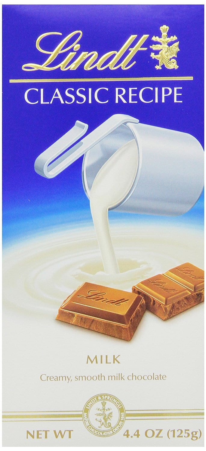 12-Pack of 4.4oz Lindt Classic Milk Chocolate  $1.65 + Free Shipping