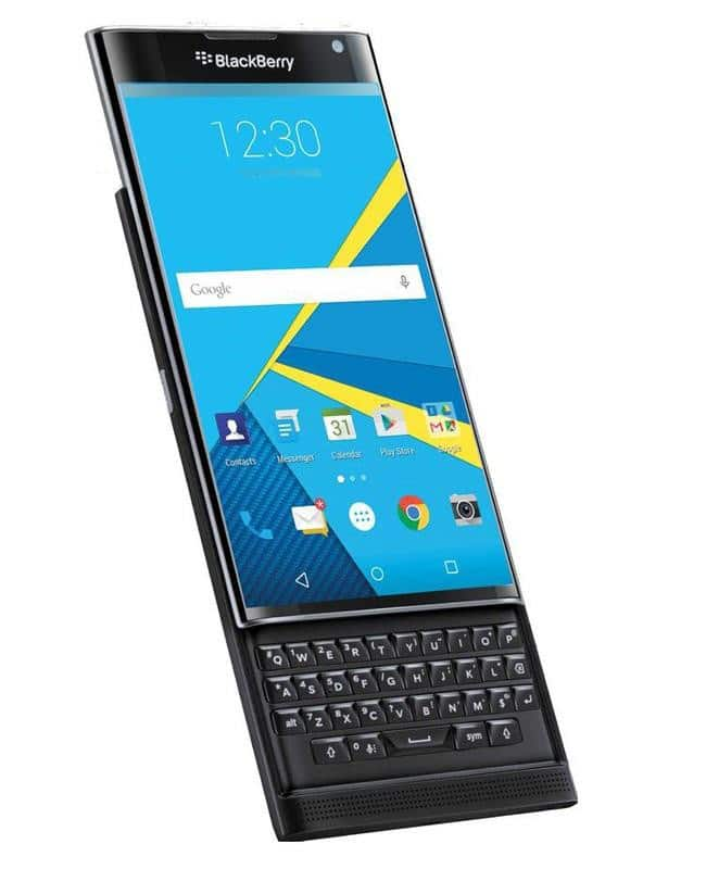 32GB BlackBerry Priv AT&T GSM Unlocked Smartphone w/ Physical Keyboard  $440 + Free Shipping