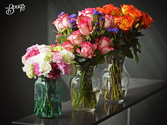TheBouqs.com Voucher for Farm-Fresh Flowers: $40 for $16,  $30 for $12