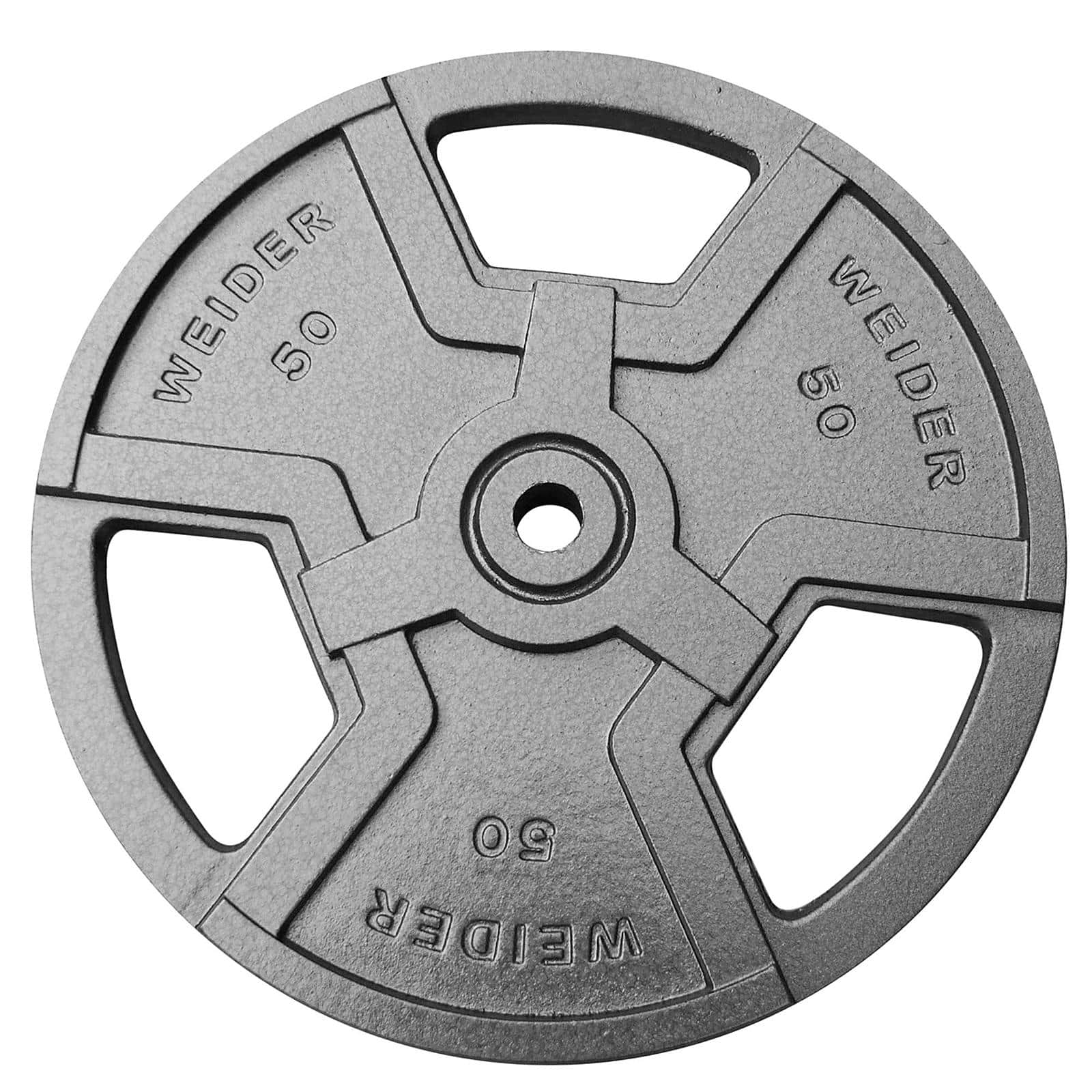 Weider 50 lb. Heavy Duty Weight Plate with Standard Handles $19.99