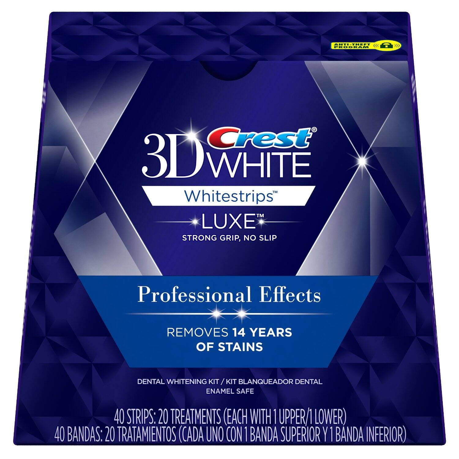 20-Treatment Crest 3D White Luxe Whitestrips Prof. Effects $28.99 @ Amazon