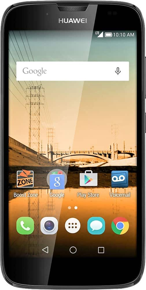 Boost Mobile No-Contract Smartphone: Huawei Union or ZTE Speed  $10 + Free Store Pickup