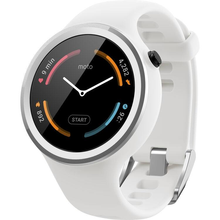 Moto 360 Sport smartwatch $199.99 with $50 B&H gift card (orange & white colors only)