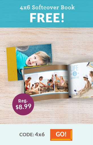 """20-Page 4""""x6"""" Custom Softcover Photo Book  Free + $4 Shipping"""
