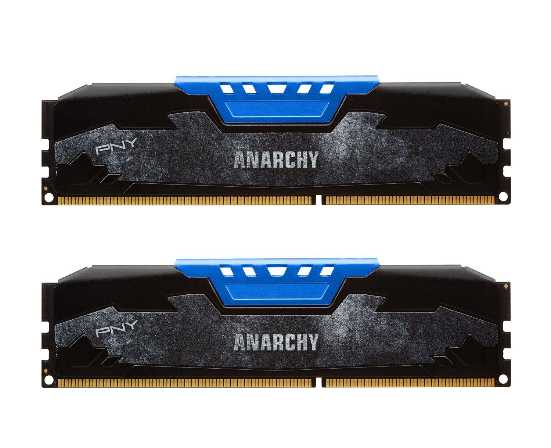 PNY Anarchy 16GB (2x8GB) DDR3 1600MHz CL9 1.5V Memory/RAM $40 @Amazon