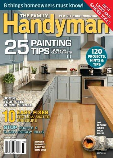 Family Handyman $6.99 per year