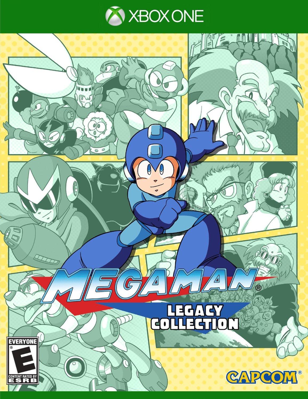 Mega Man Legacy Collection (Xbox One) Disc Copy $13.96 Amazon