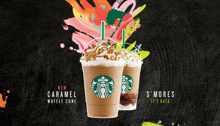 Starbucks half off any Frappuccino beverage 3-5pm, May 3-15th