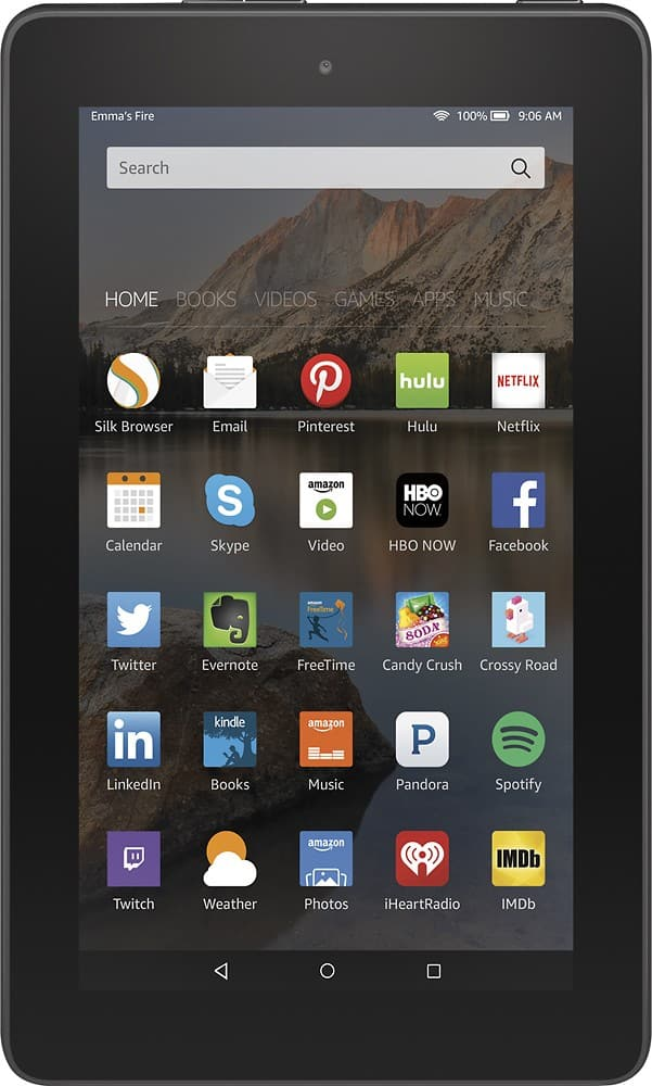 """8GB Amazon Fire 7"""" Wi-Fi Tablet w/ Special Offers  $40 & More"""