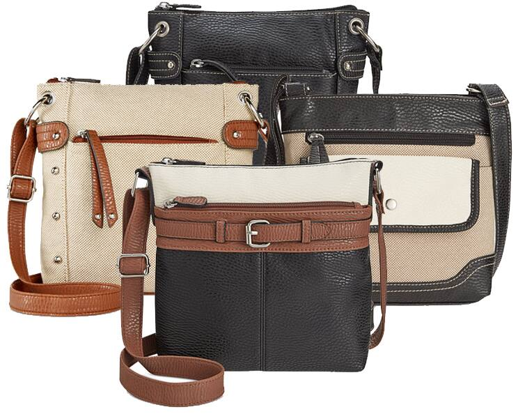 Macys Handbags: $25 off $75 + 25% Off: Style & Co. Small Crossbody Bags  4 for $44 & More + Free S&H