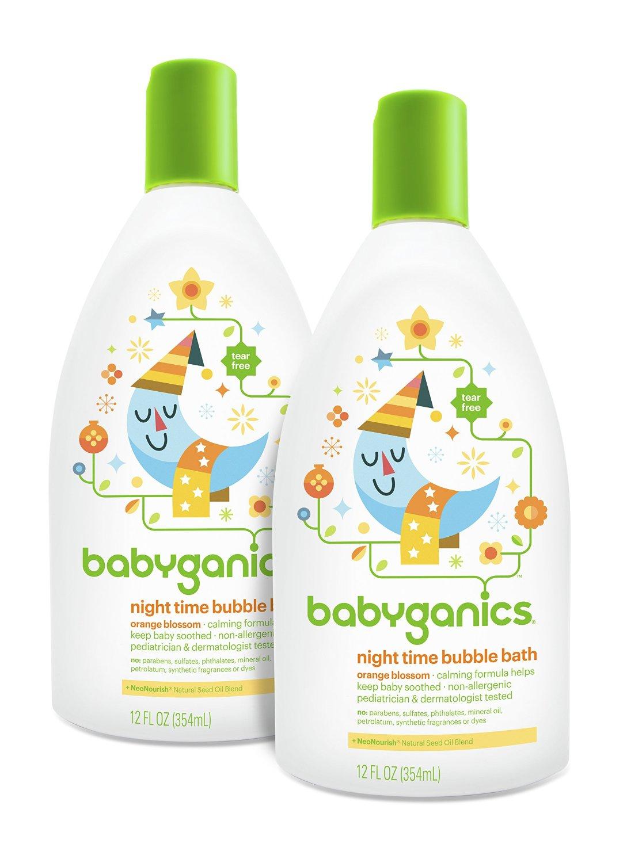 20% Off Babyganics Baby Bubble Bath, Orange Blossom, 12oz Bottle, (Pack of 2) on sale for $7.40 AC + Free Shiping @ Amazon