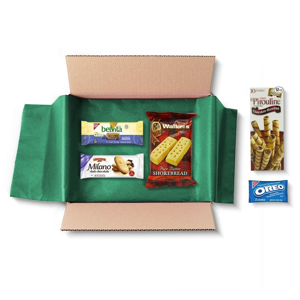 Cookie Sample Box + $5 Credit for Future Cookie Purchase  $4.90 & More + Free S&H (Prime Membership Req'd)