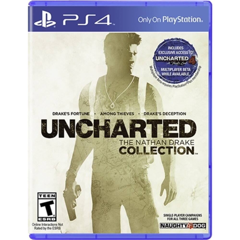 Best Buy: Uncharted: The Nathan Drake Collection - PlayStation 4 $19.99 ($15.99 GCU)