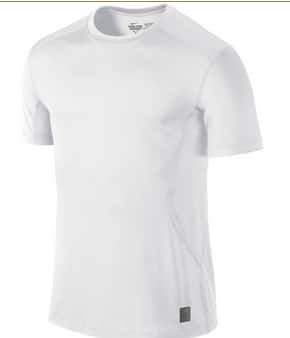 Nike Men's Core Combat Fitted Dri-Fit Short Sleeve SF Top (white)  $7.50 & More + Free Shipping