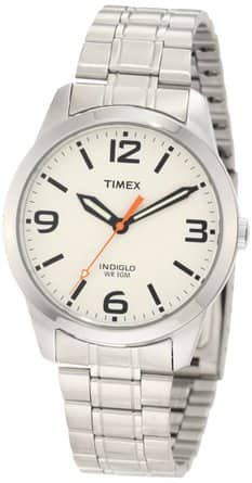 Timex: Men's Weekender Stainless Steel Watch $18, Women's Cavatina Watch w/ Leather Strap $17.50 + Free Shipping