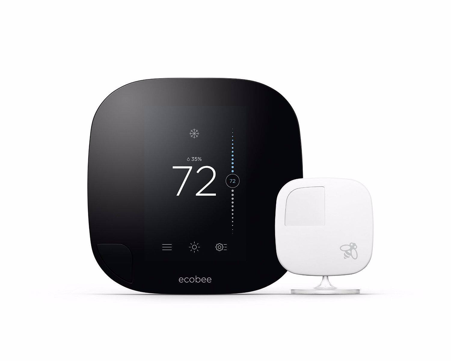 ecobee3 Smarter Wi-Fi Thermostat with Remote Sensor $190 + Free Shipping! (eBay Daily Deal)