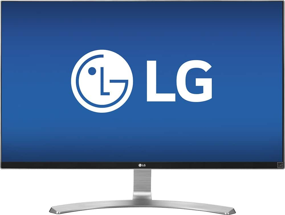 """LG 27"""" 4k IPS monitor, free shipping for $400 at Best Buy"""