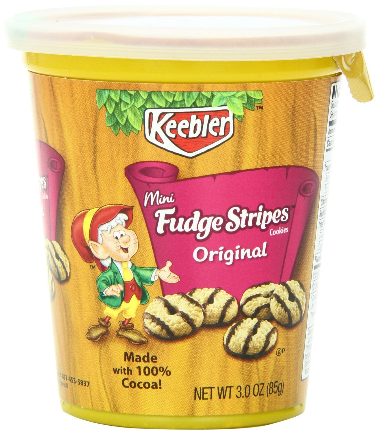 Keebler Fudge Stripes Cups (Pack of 10) - As Low As $6 - Amazon S&S