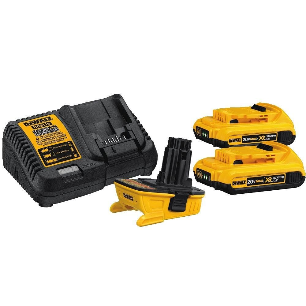 It's back: DeWalt DCA2203C Battery Adapter Kit for 18V Tools $110 at Amazon