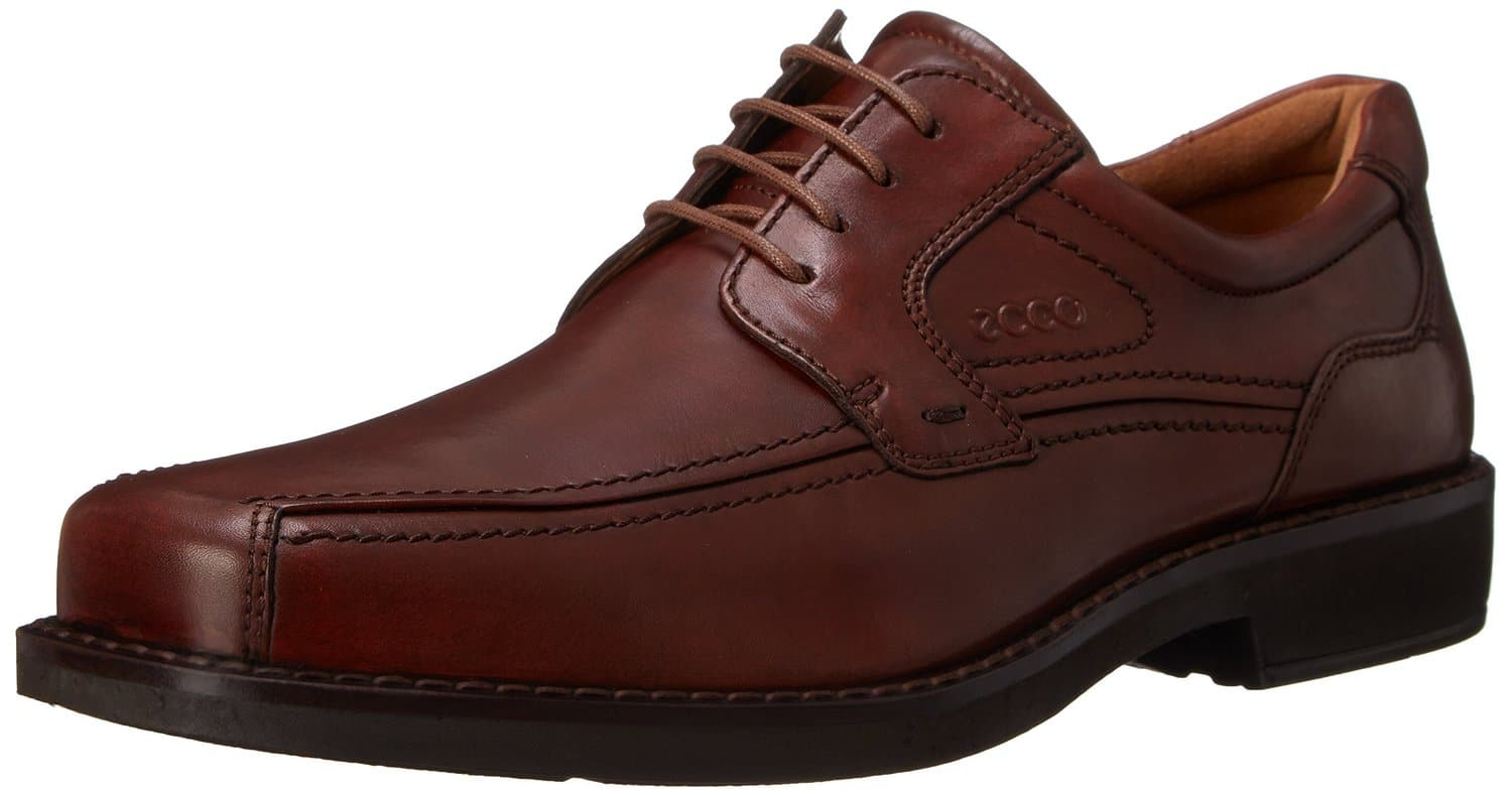 ECCO Men's Seattle Bicycle-Toe Oxford Shoe (Cognac)  $69 + Free Shipping