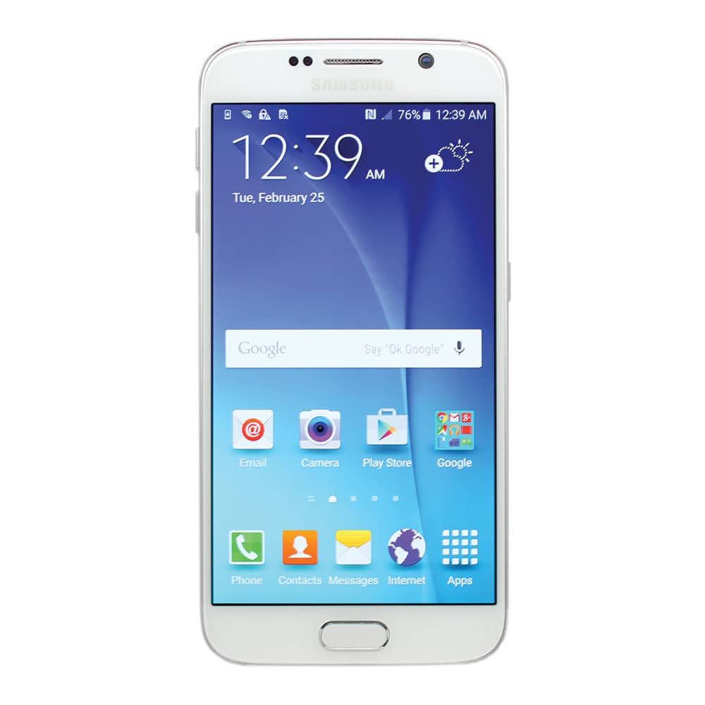 Samsung Galaxy S6 SM-G920T 32GB Smartphone for T-Mobile Sapphire Gold or White (Refurbished) $280 + Free Shipping! (eBay Daily Deal)