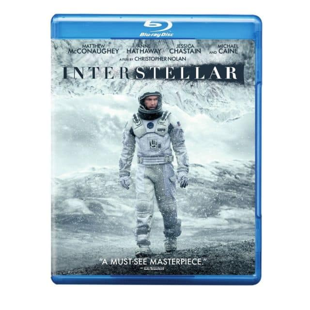 Blu-ray Movies: Interstellar, Unbroken, Lone Survivor  $5 + Free Store Pickup